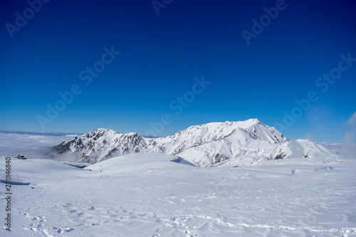 立山室堂雪景色 Fototapet