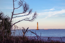 Morris Island Lighthouse In Th...