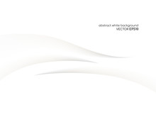 Abstract White Background 3D C...