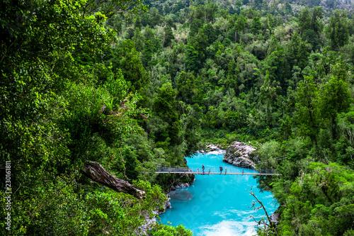 Obraz na plátně Hokitika Gorge, West Coast, New Zealand