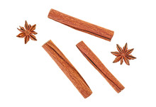 Cinnamon Sticks With Anise Sta...
