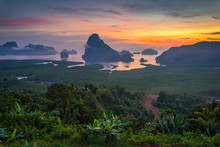 Beautiful View Of Phang Nga Ba...