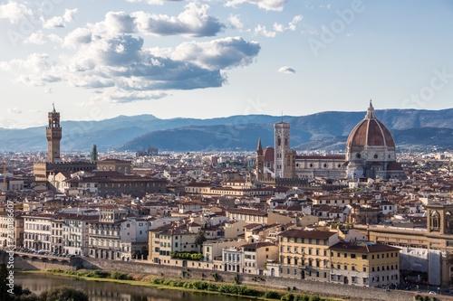 Panorama Florenz Aussicht Wollen Dom