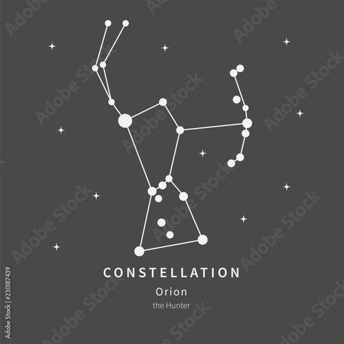 Cuadros en Lienzo The Constellation Of Orion