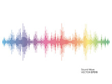 Vector Sound Waves Dynamic Col...