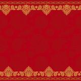 Sari indian seamless pattern
