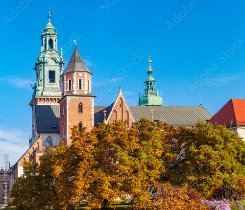 Wawel Cathedral by Autumn