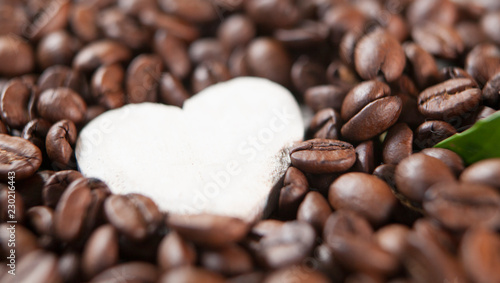 passion du café Canvas Print