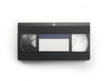 VHS Video Cassette Tape Isolat...