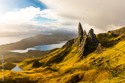 Old Man of Storr, Isle of Skye - Schottland Fototapet