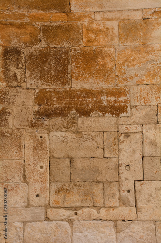 Photo  A bricked in window in the church of Sveti Duh (Holy Spirit) in the historic hil