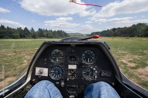 cockpit glider