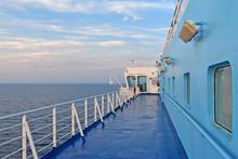 Civitavecchia, Italy, On Board...
