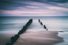 Twilight At Baltic Sea