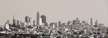 Old Style View Of San Francisco