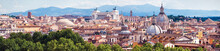 Aerial Panoramic View Of Rome,...