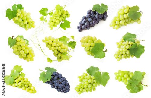 Fototapeta tasty grapes branch obraz