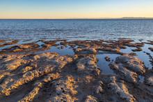 Sunset At Bombay Beach, Salton...