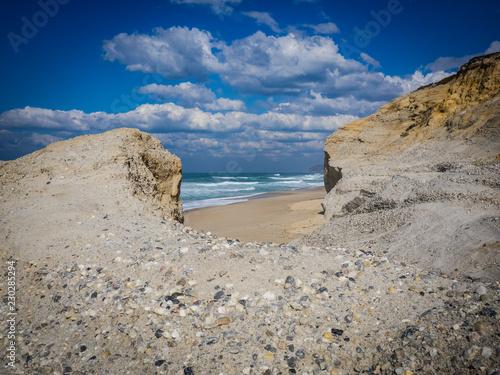Fotografia  Küste und Dünen bei Obidos, Portugal, Atlantik
