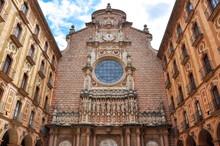 Courtyard Of Montserrat Monast...