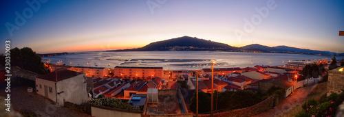 Fotografie, Obraz  Caminha town and Minho river's mouth