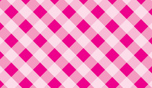 Pink Traditional Gingham Background.Texture From Squares For -tablecloths, Clothes, Shirts, Dresses, Paper And Other Textile Products.llustration.