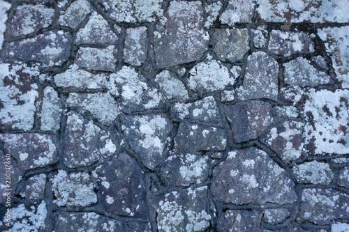 Fotografie, Obraz  Grey Stone Wall