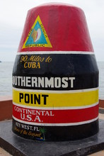 Southernmost Point Of The Continental (Key West - USA)