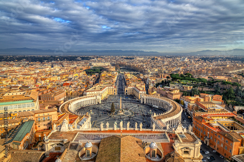 Photo  A View of St Peters Square