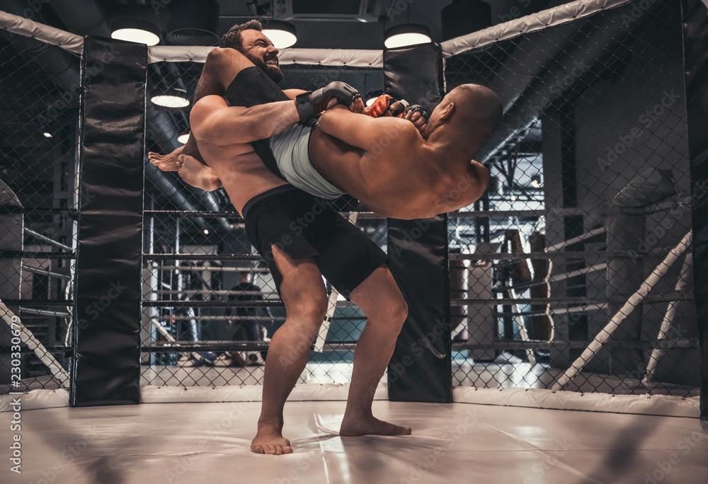 Wrestlers In The Ring 230330679 Sztuki Walki Plakat