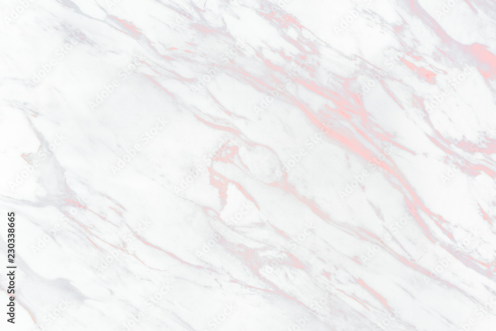 Fototapeta Close up of white marble texture background