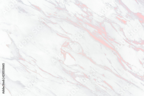 Fotografia Close up of white marble texture background