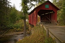 Covered Bridge In Northfield F...