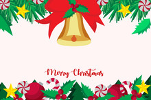 Christmas Greeting Card Template ,merry Christmas Decoration