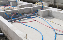 木造住宅 基礎工事 ベタ基礎 給排水