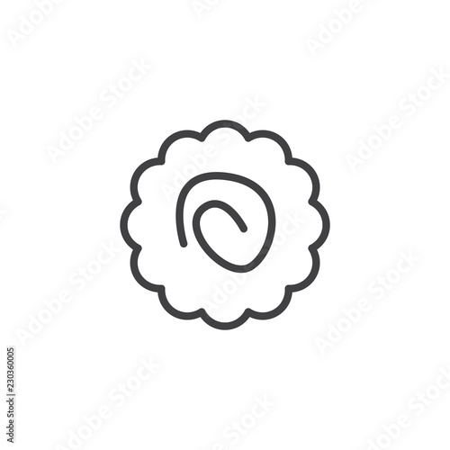 Photo  Naruto ramen outline icon