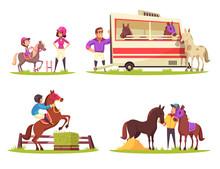Equestrian Sport Design Concept