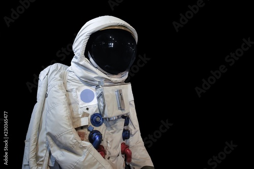 Deurstickers Nasa Astronaunt low angle shot and isolate background