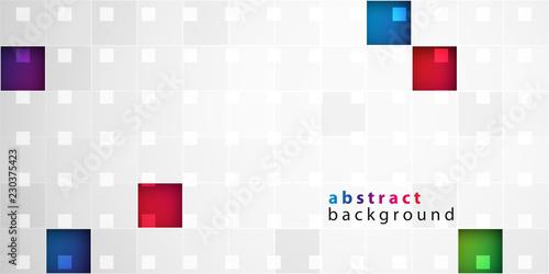 Fotografia  kolorowe kwadraty tło wektor