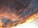 Fototapeta Na sufit - Jesienne niebo przy zachodzie słońca