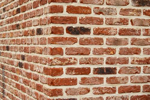 Fototapeta Stone wall, corner obraz