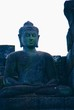 Image of sitting Buddha in Borobudur Temple, Jogjakarta, Indonesia
