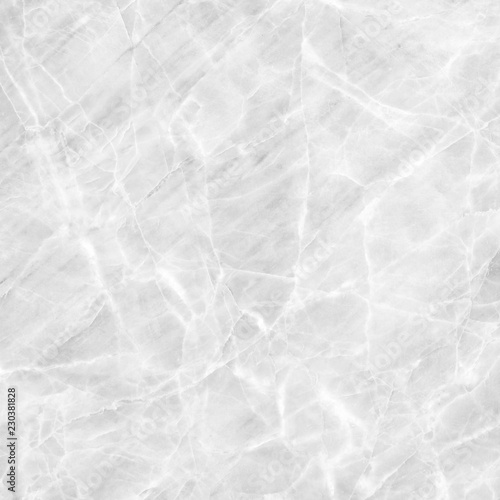 Fototapety, obrazy: White marble texture background pattern with high resolution