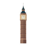 Fototapeta Big Ben - Big Ben Vector Illustration in Flat Design