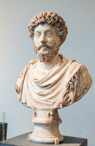 Tablou Canvas Bust of the famous Roman Emperor Hadrian