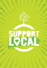 Support Local Farmers. Creativ...