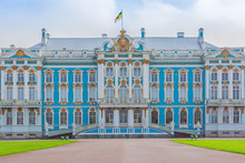 Catherine Palace In Tsarskoe S...