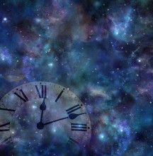 Time And Space Background - Fa...