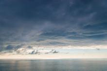 Large Heavy Black Cloud Dramat...