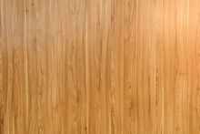 Close-up View Of Light Brown Horizontal Wooden Background